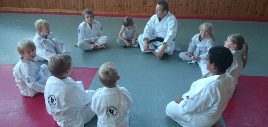 Karate vechtsport in Leeuwarden sensei Theo