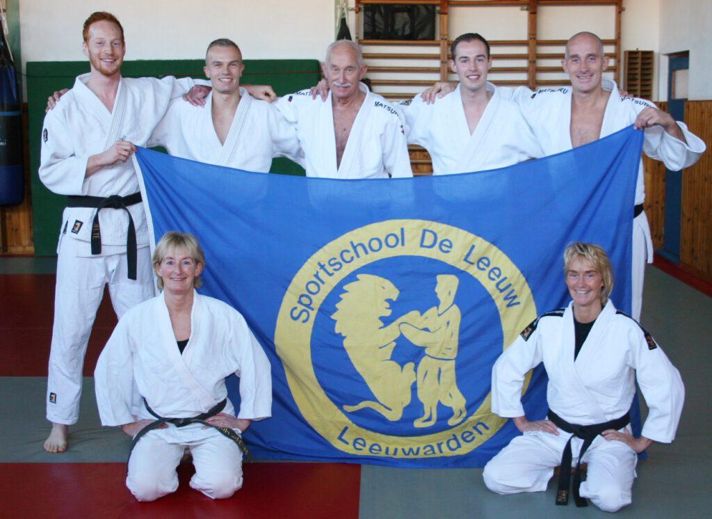 Familie de Leeuw Judo zwarte band